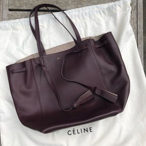 Authentic Celine Cabas Phantom with Tassels